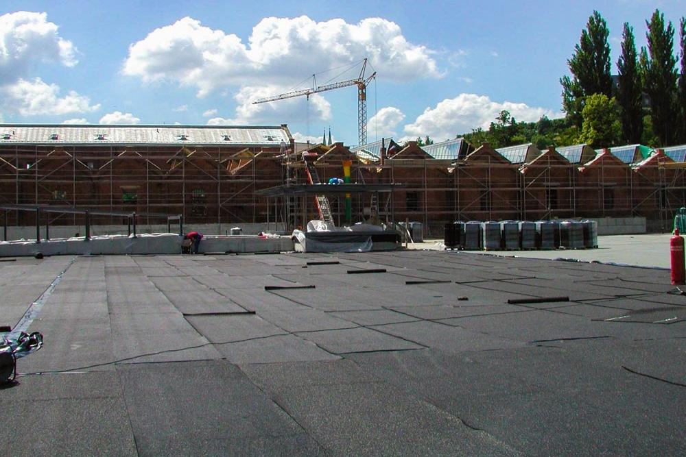 Покрытие Kraitec для крыши