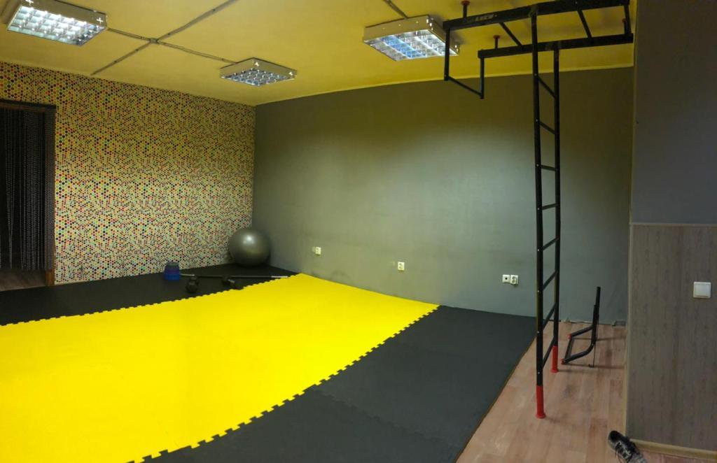 Покрытие Kraitec в фитнес студии